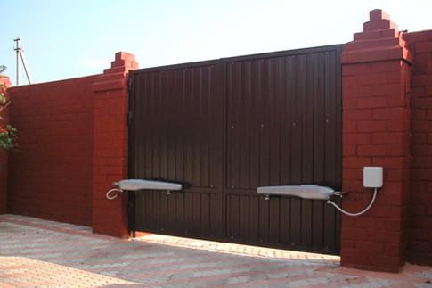 Раздвижные ворота не автоматические